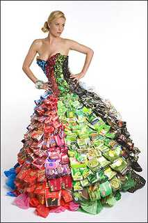crushed cans and fabulous fashion