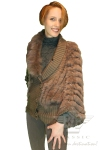 BB1 Detachable Collar Fur Sweater
