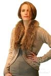 Luisa Cerano Fur Collar Sweater