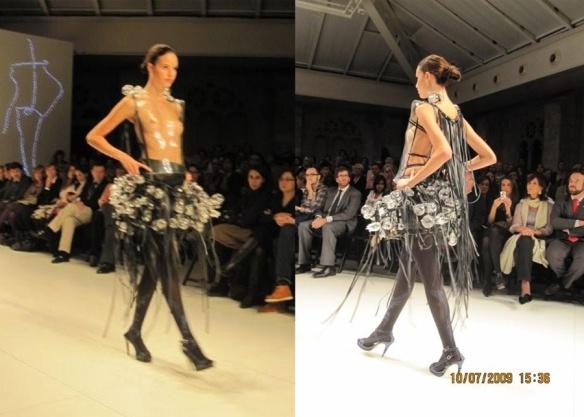 Maria Lafuente Glass Dress